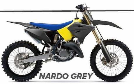 Polisport Restyle Nardo Grey Complete Plastic Kit For Suzuki RM 125 250 90866