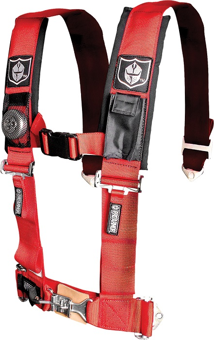 Pro Armor Universal Black 4 Point Harness for UTV SXS Pair