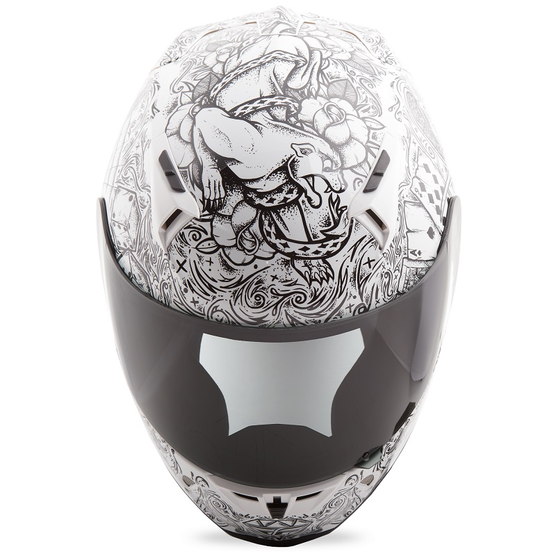 NEW FLY RACING Revolt Ink 'N Needle Helmet MOTORCYCLE SPORT STUNT Apparel & Merchandise Automotive