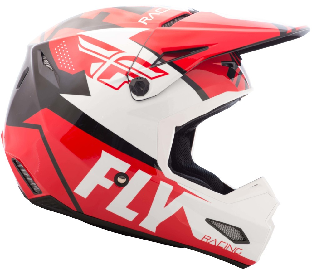 Fly Racing 73-9203X White//Black//Red X-Large WerxUltra Graphic
