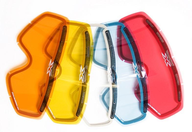 EKS and Beer Optics Silver Mirror ADULT Goggle Lens Anti fog 40250