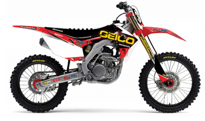 d 39 cor 2016 geico graphic trim kit for honda crf 150 r all ebay. Black Bedroom Furniture Sets. Home Design Ideas