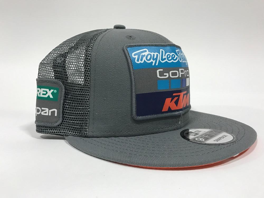 Troy Lee Designs 2017 KTM Go Pro Team Licensed Snapback Hat Adult  40e1fb80529