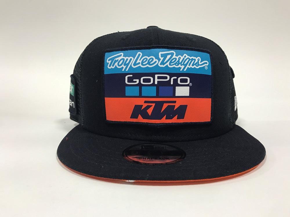 870eb540afd Troy Lee Designs 2017 KTM Go Pro Team Licensed Snapback Hat Adult Navy
