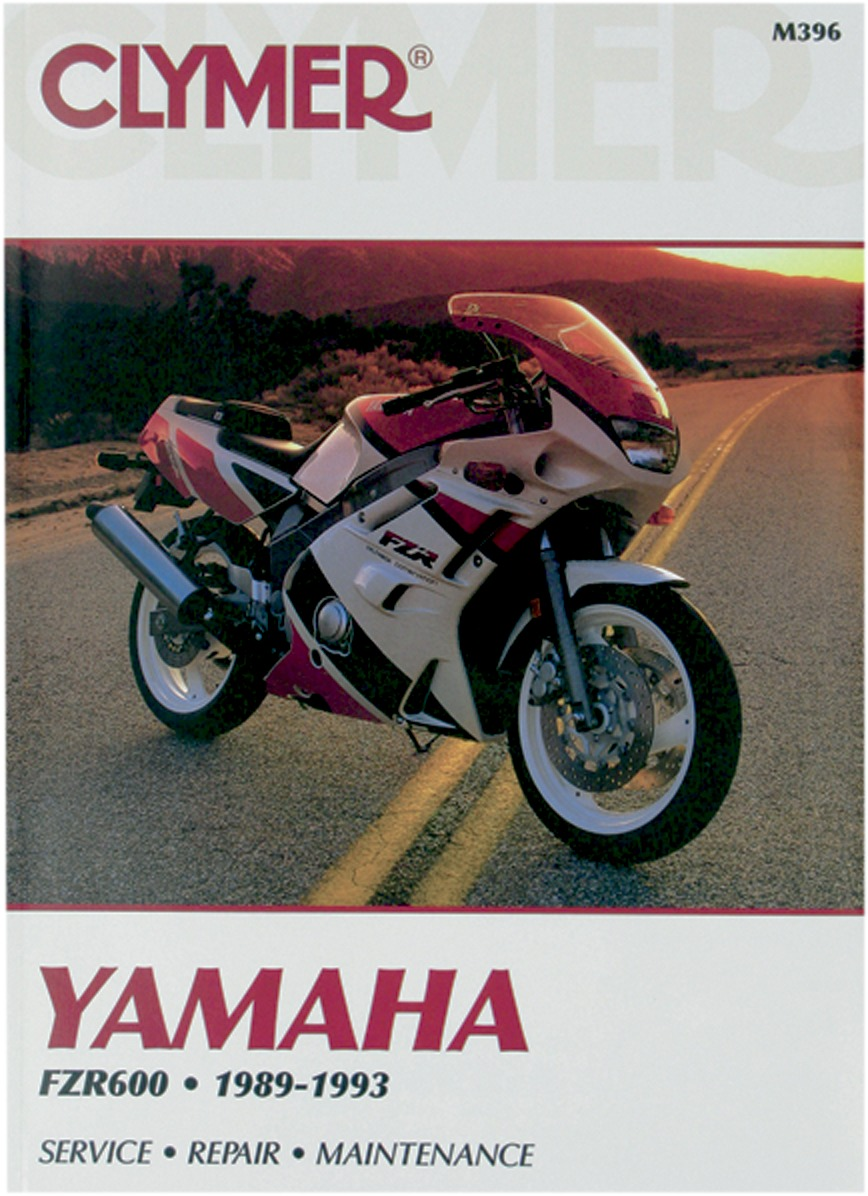 Clymer Repair Manual for Yamaha FZR 600 89-93 M396