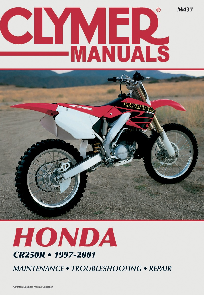 Clymer Repair Manual for Honda CR 250 97-01 M437