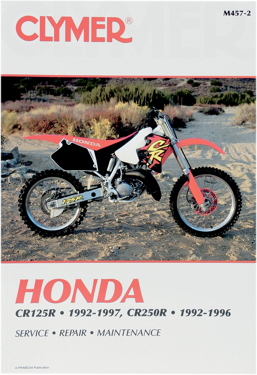 Clymer Repair Manual for Honda CR 125 92-97, CR 250 92-96 M457-2