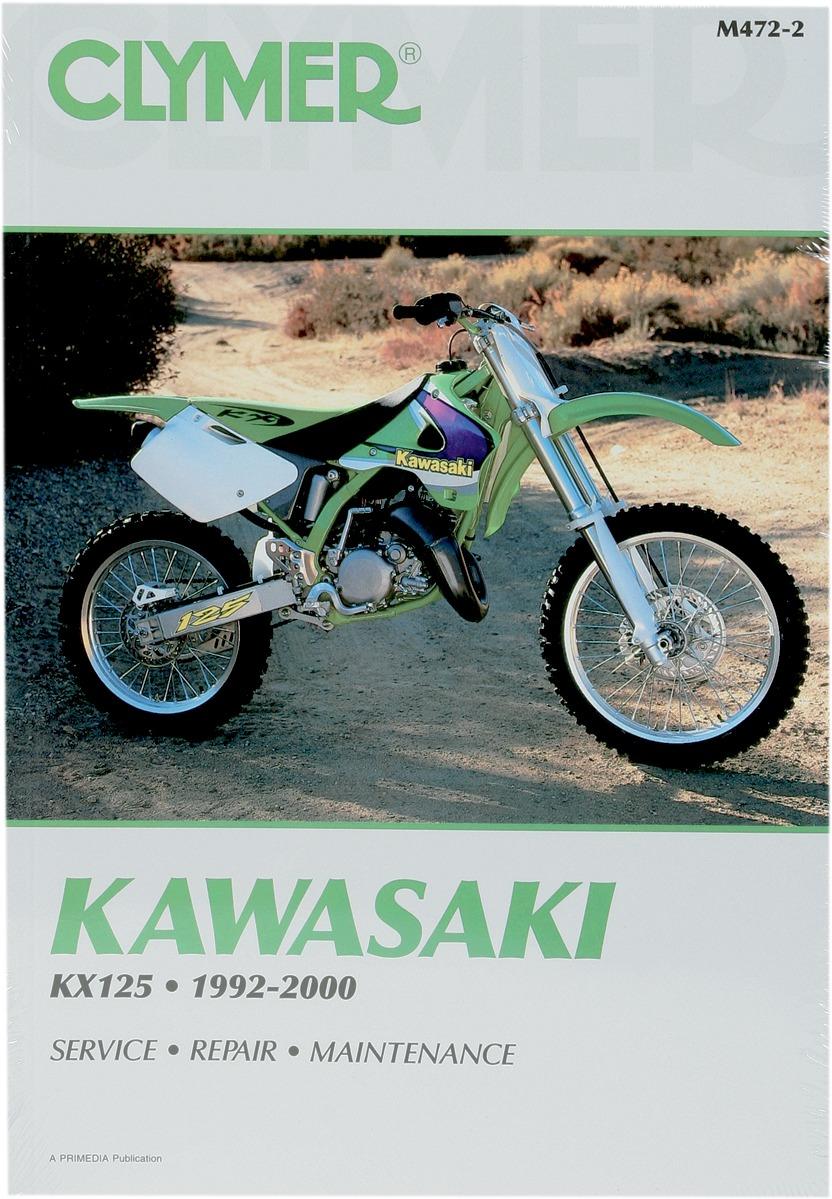 Clymer Repair Manual For Kawasaki KX 125 92-00 M472-2