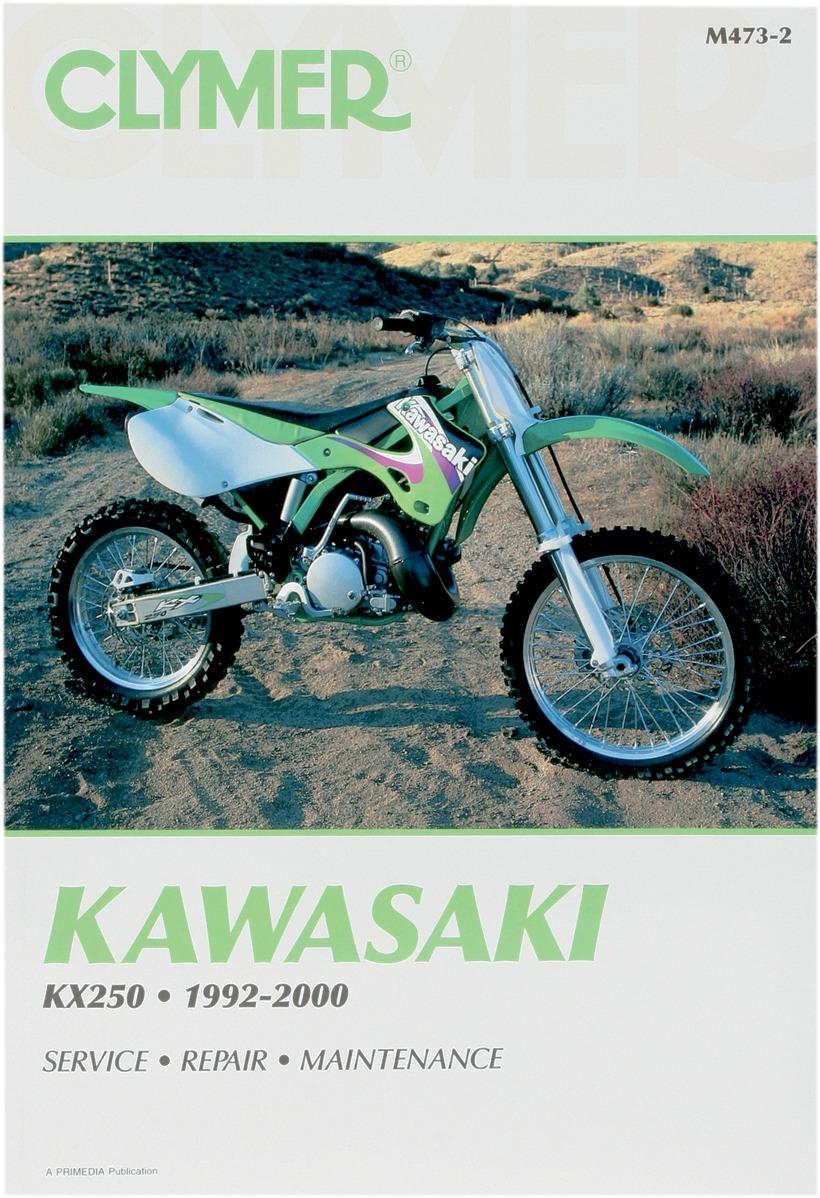 Clymer Repair Manual For Kawasaki KX 250 92-00 M473-2 - Lytle Racing Group