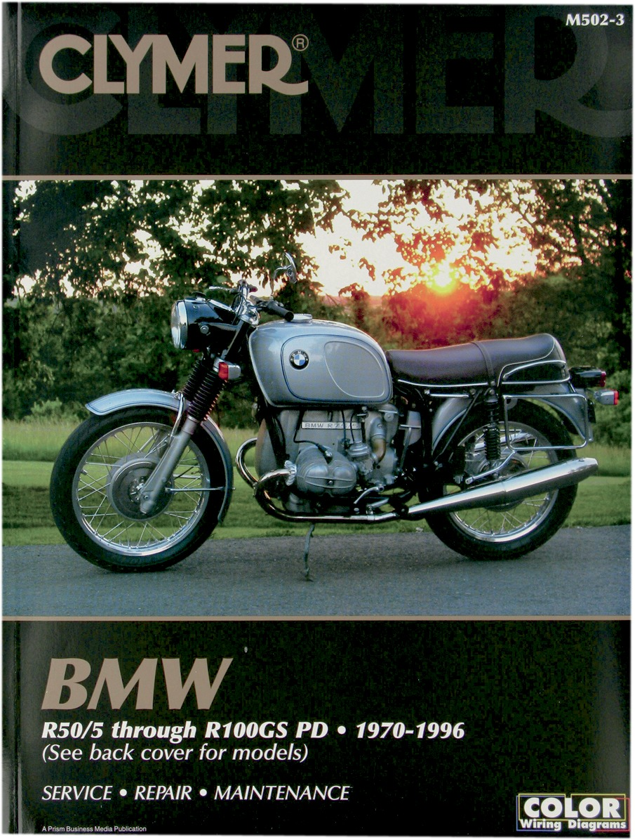 Clymer Repair Manual BMW R-Series R50 / 5 R 100 GS 70-96 M502-3