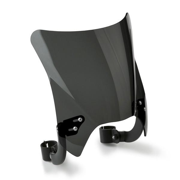 National Cycle Mohawk Windshield Dark Tint Black Hardware N2831-002