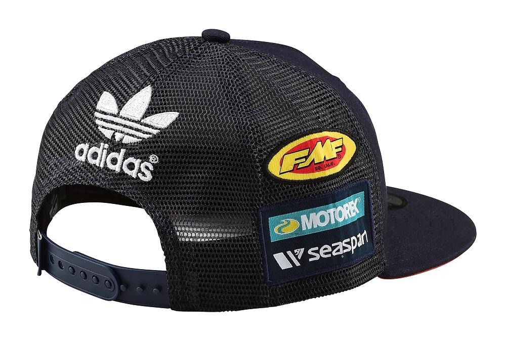 1d5eb076cf8 Troy Lee Designs 2019 KTM Team Licensed Snapback Hat Youth Navy ...
