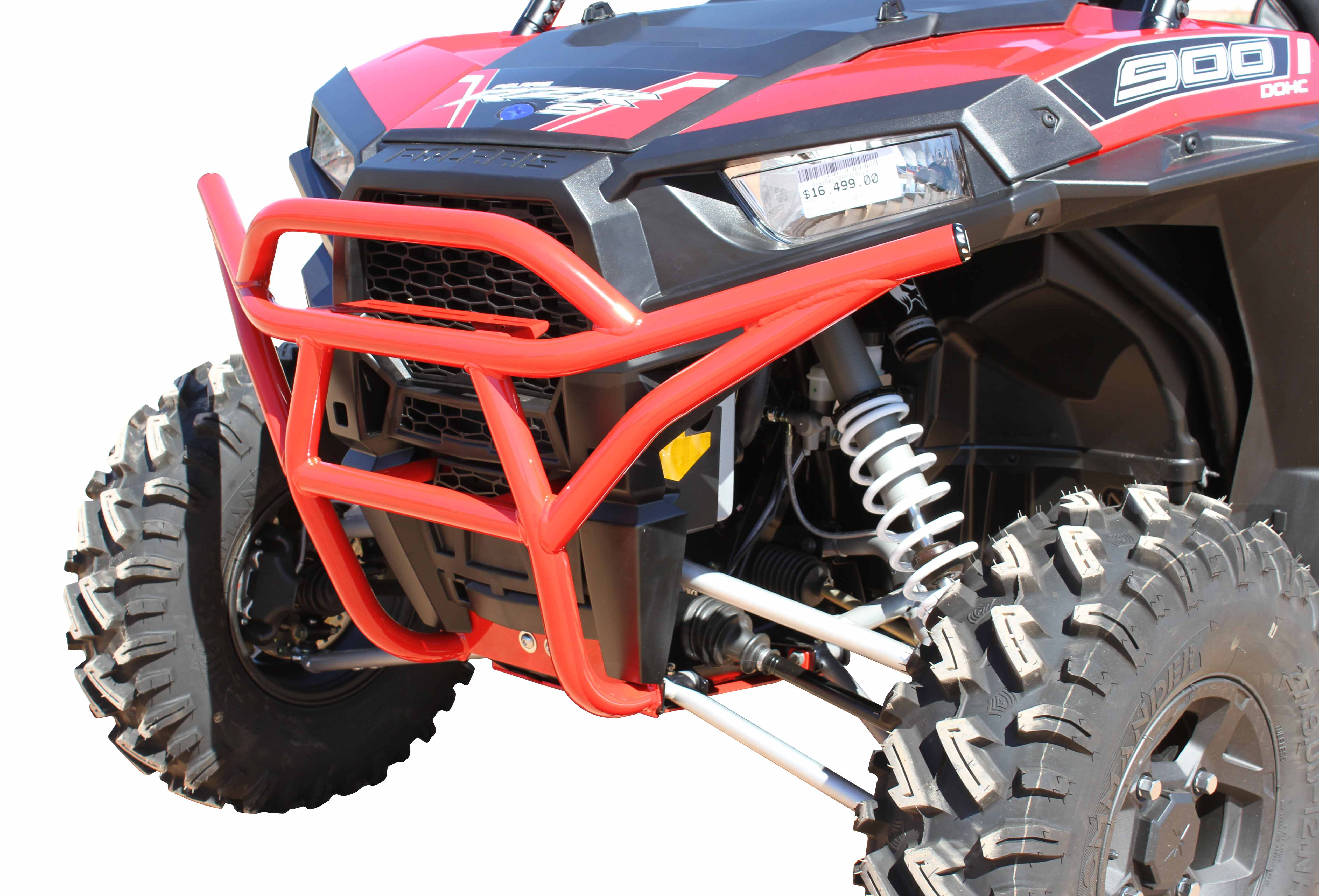 RED 2018 RZR Turbo XP Front Bumper