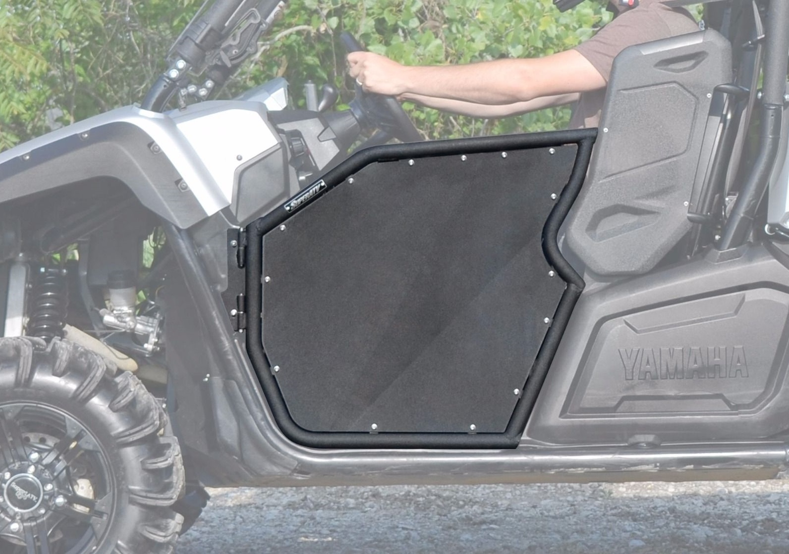 Super ATV Black R-Series Doors Can-Am Maverick
