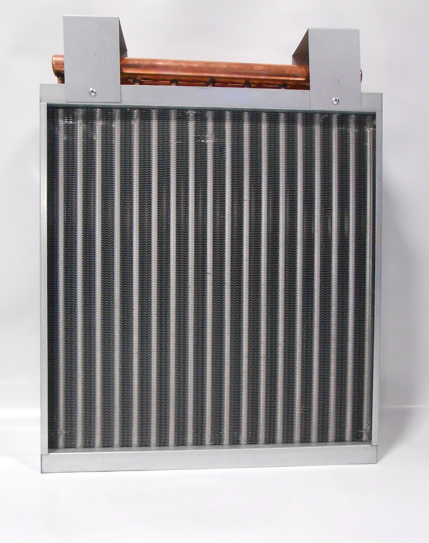 20x20-Water-to-Air-Heat-Exchanger-Hot-Water-Coil-Outdoor-Wood-Furnace thumbnail 2