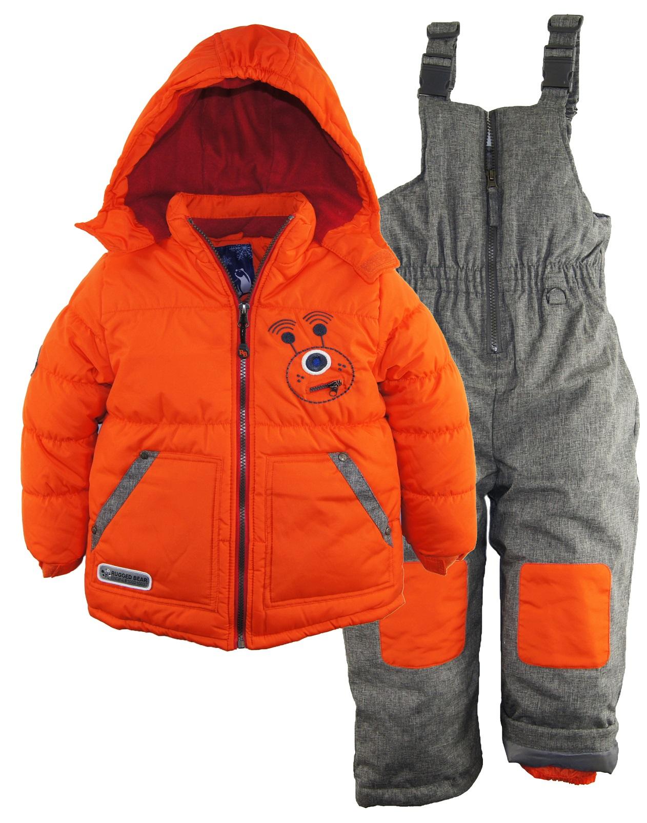 rugged bear little boys 39 robot winter 2pc snowsuit. Black Bedroom Furniture Sets. Home Design Ideas