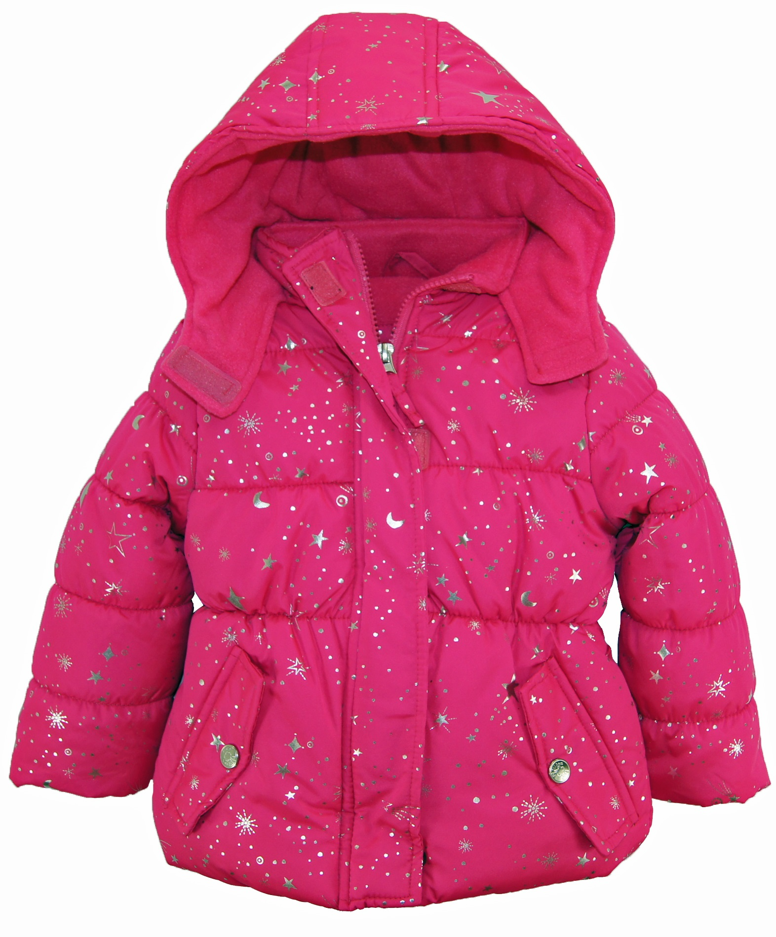 Discover a wide variety of stylish toddler winter jackets in fun looks for girls and boys. Our toddler winter coat collection for girls emphasizes cute design and dynamic color. Choose from adorable peacoats, trench coats, faux fur coats, moto jackets and an array of warm vests.