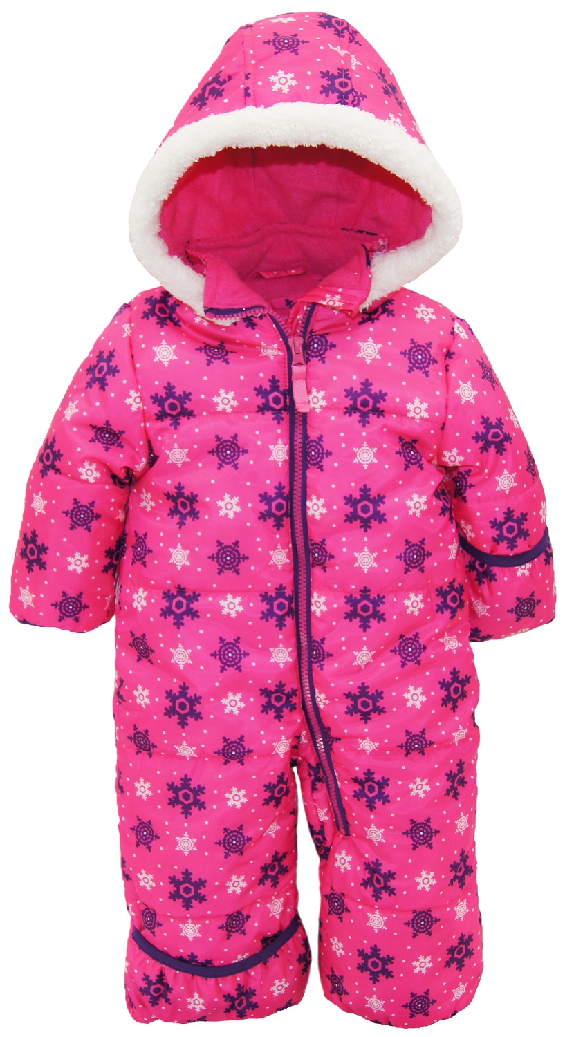 pink fleece little heart with anorak printed jacket girls platinum lining