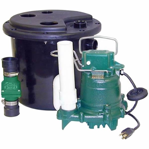 Zoeller Model 105 Drain Pump System With M53 Sump Pump