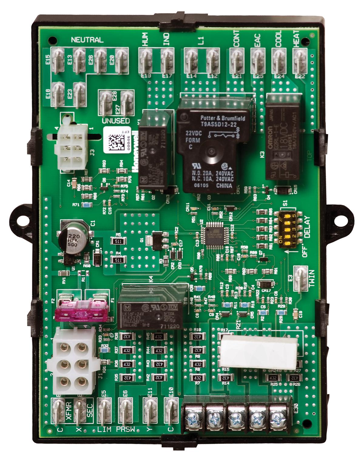 honeywell st9120u1011 universal electronic fan timer ... honeywell furnace circuit board wiring diagram carrier furnace circuit board wiring schematic