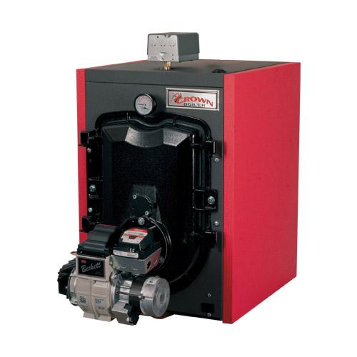 Crown Boiler Fwz130 3 Pass Oil Fired Hot Water Boiler 87