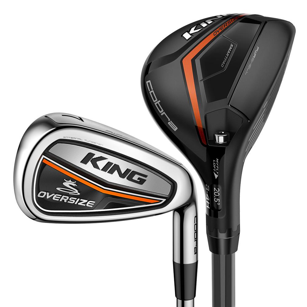 NEW-Cobra-Golf-KING-Oversize-Hybrid-Irons-Graphite-Pick-Flex-amp-Set-Composition thumbnail 13