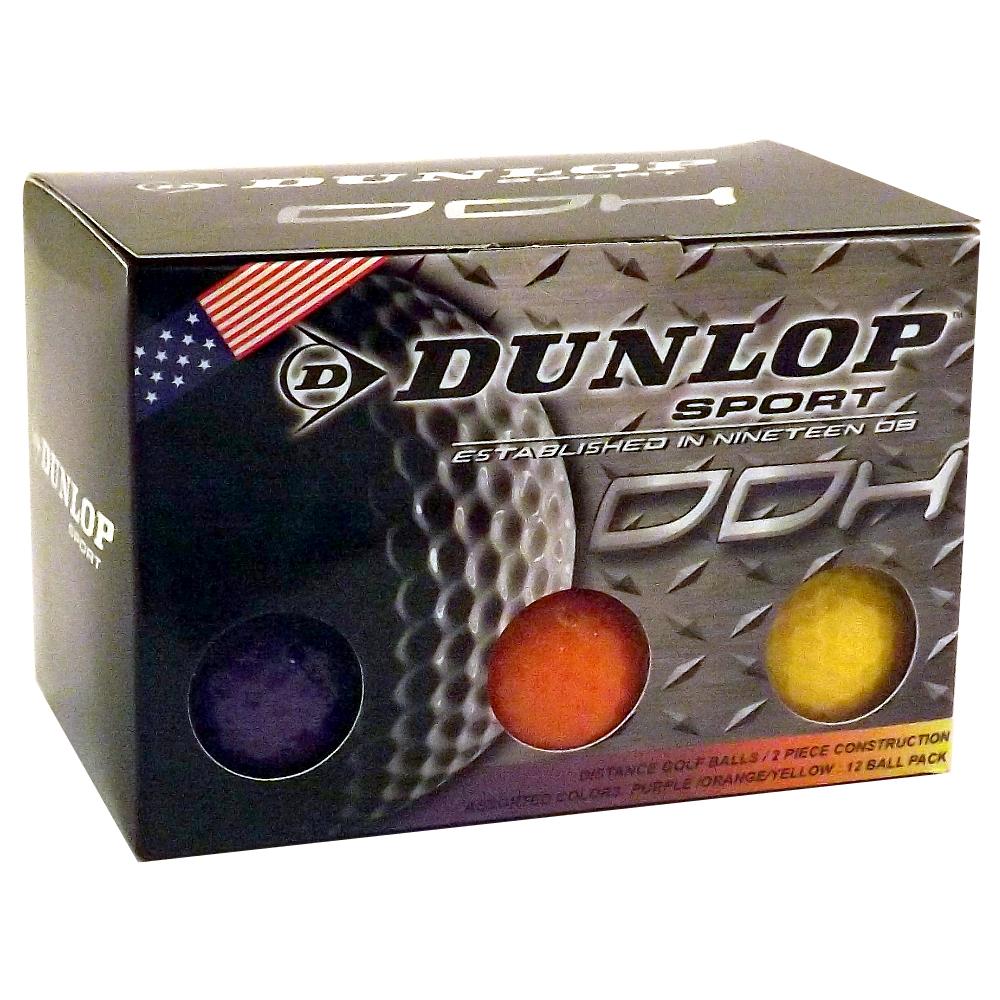 4-Dozen-NEW-Dunlop-DDH-Sport-Golf-Balls-Choose-Color