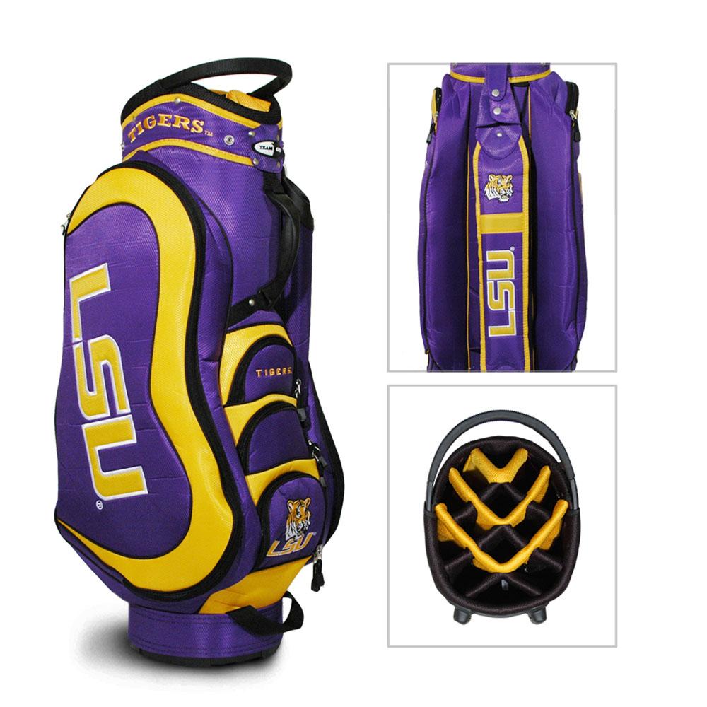 Team Golf LSU Tigers Medalist Cart Golf Bag | eBay