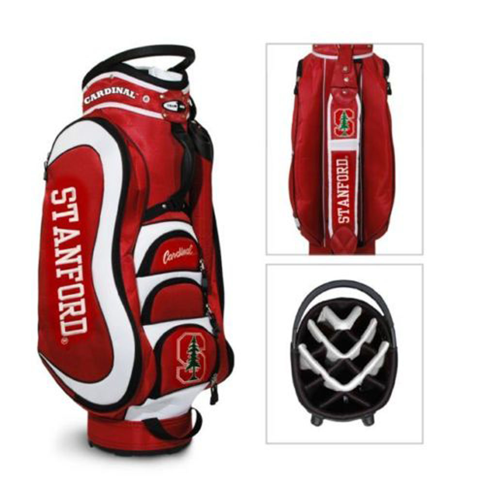 Team Golf Stanford Cardinal Medalist Cart Golf Bag | eBay Stanford Golf Carts on stanford golf driving range, stanford golf jacket, stanford golf practice facility,