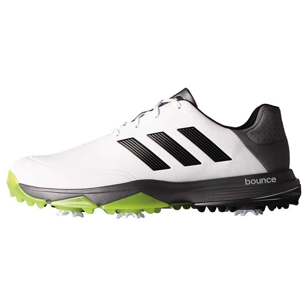 0406b7718 adidas Mens Adipower Bounce WD Ftwwht Golf Shoe White 9.5 4e US