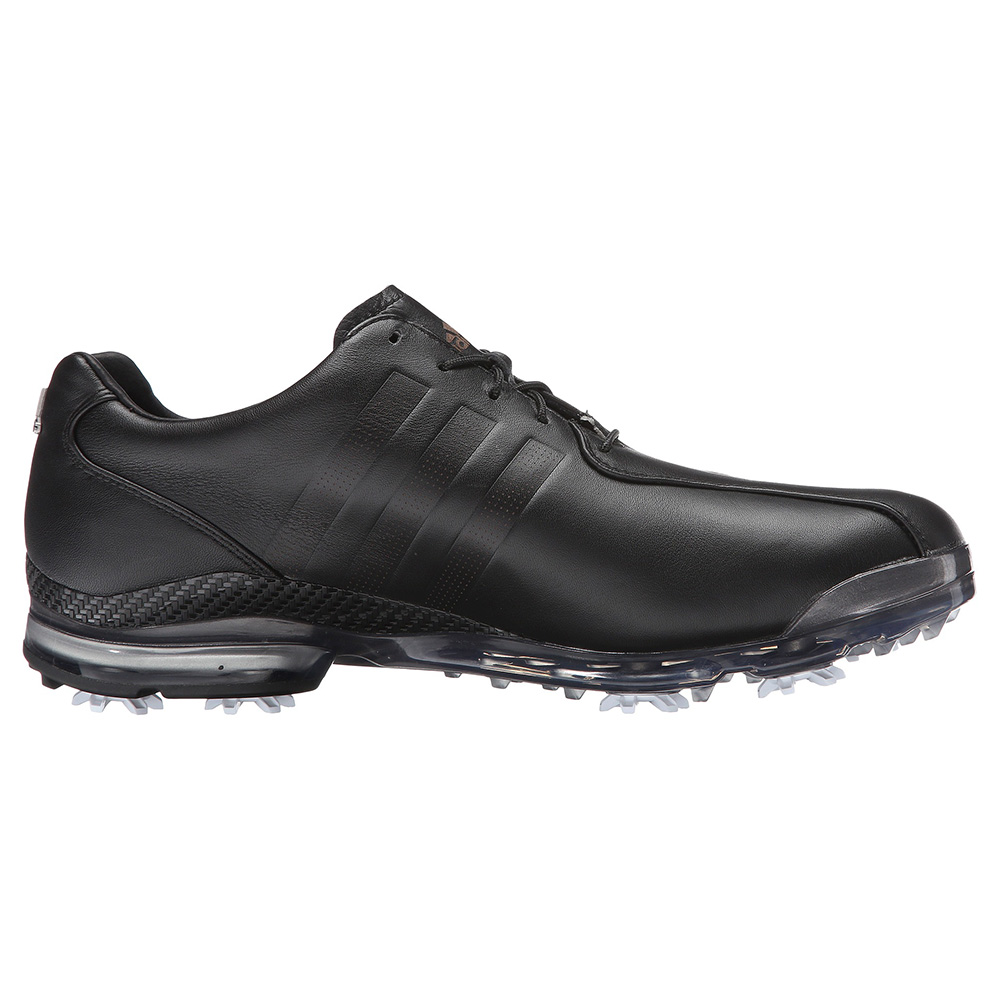 adidas black golf shoes
