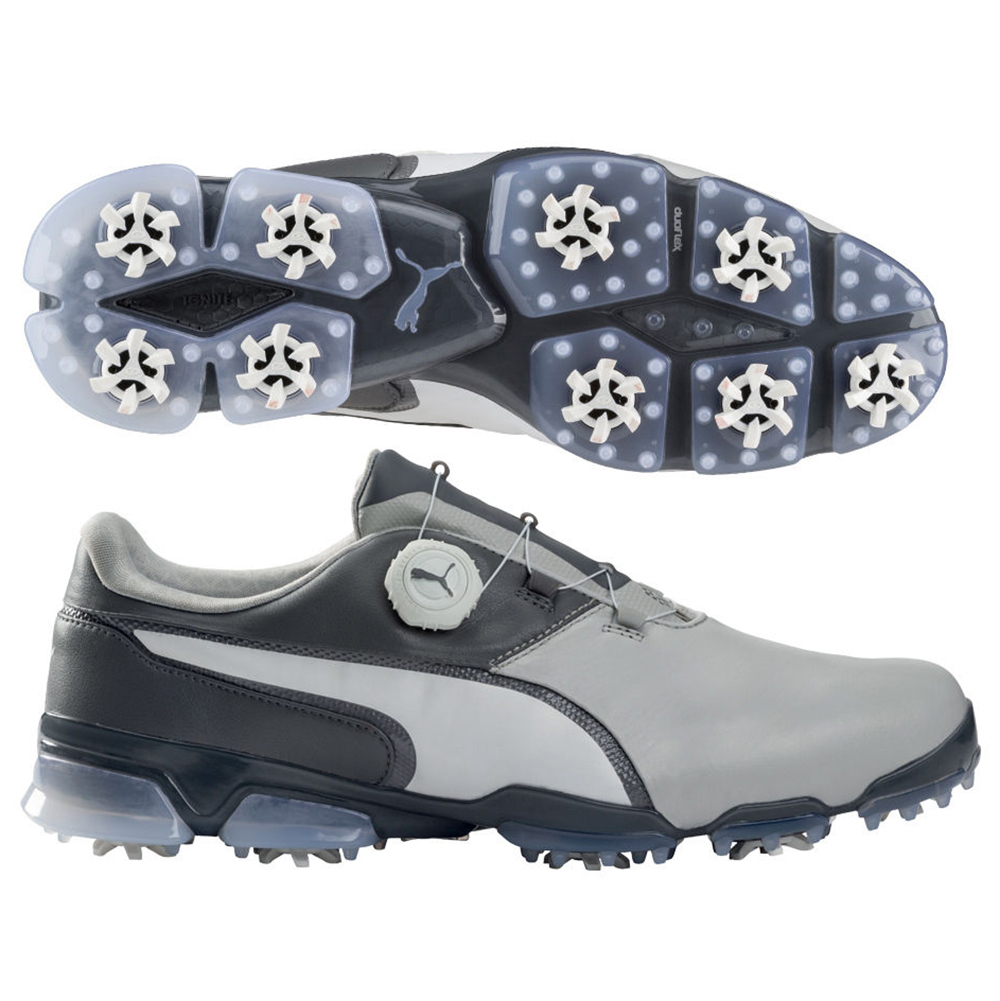 PUMA 2017 TitanTour Ignite Disc Golf Shoes 189427 - Gray steel 11. About  this product. 108 viewed per 24 hours. Picture 1 of 3  Picture 2 of 3   Picture 3 of ... 44b54ee3b