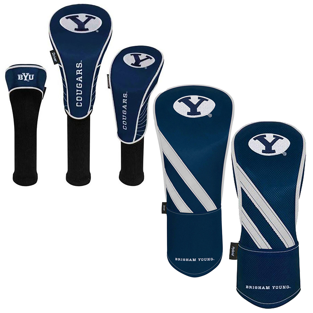 NEW Team Effort Golf NCAA BYU Cougars Head Covers - Choose Y