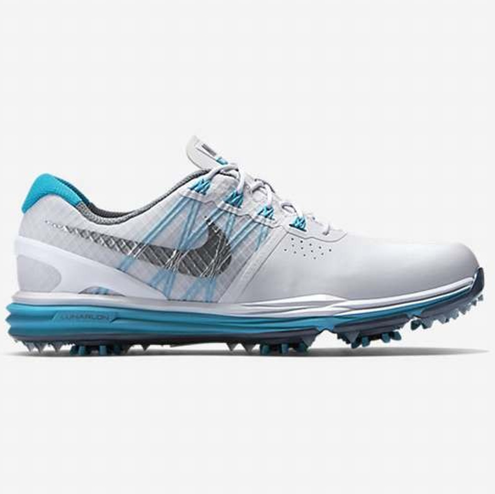 NIKE LUNAR CONTROL White/Blue Lagoon/Cool Grey