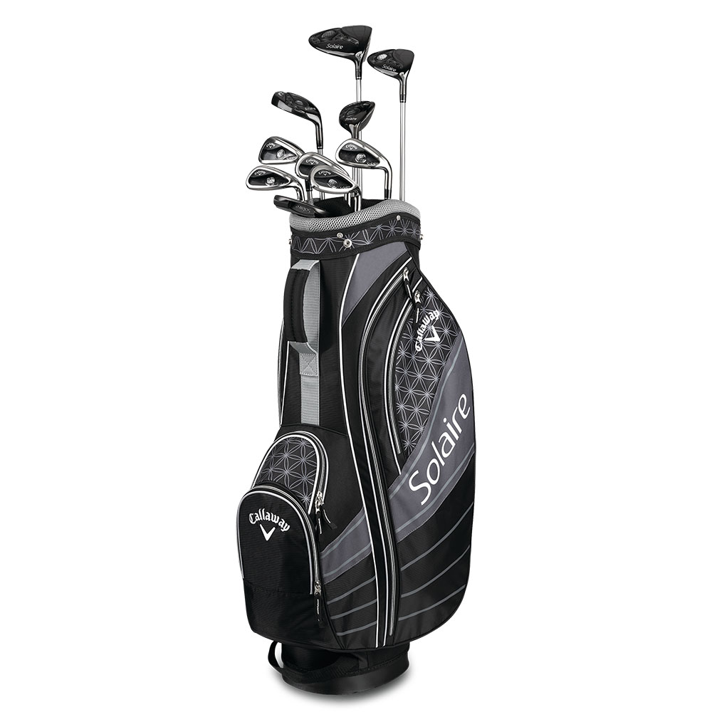 NEW Lady Callaway Solaire Complete Golf Set W Driver Wood Irons - Acura golf clubs