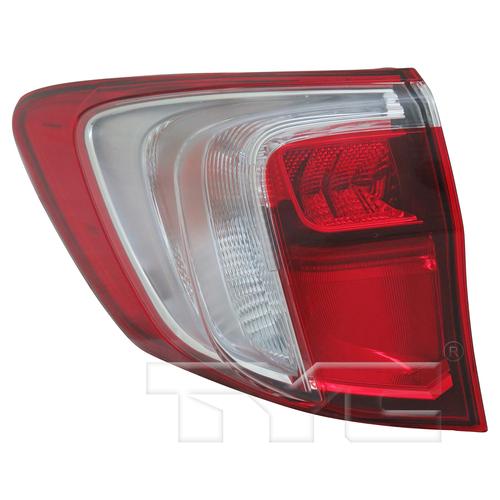 Outer Quarter Tail Light Rear Lamp Left Driver For 16-18
