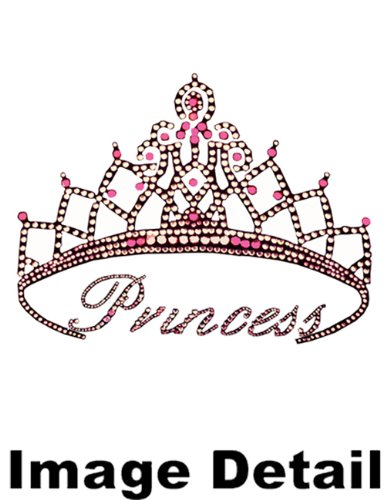 Pink Princess Crown Pretty Crystal Studded Rhinestone Car Low Back Seat Covers