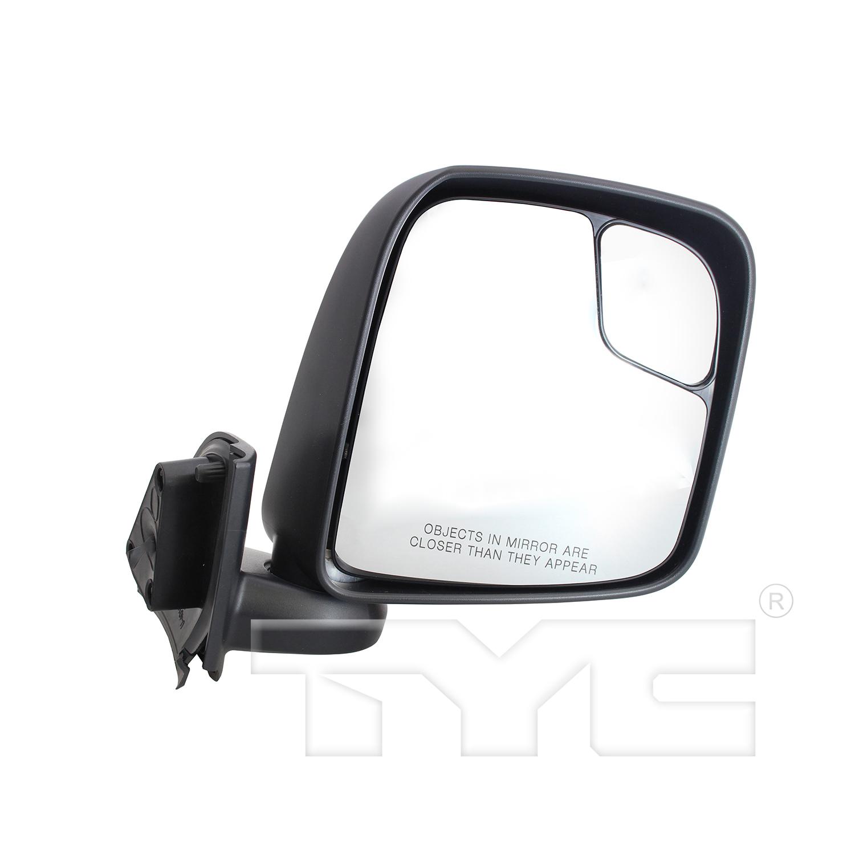Door Mirror for 13-18 Nissan NV200 S Model Manual Textured Left Driver  Side