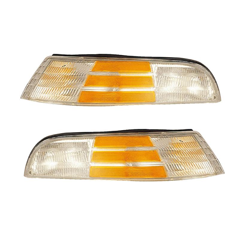 Corner Light For 92-97 Ford Crown Victoria Set of 2 Left /& Right Incandescent