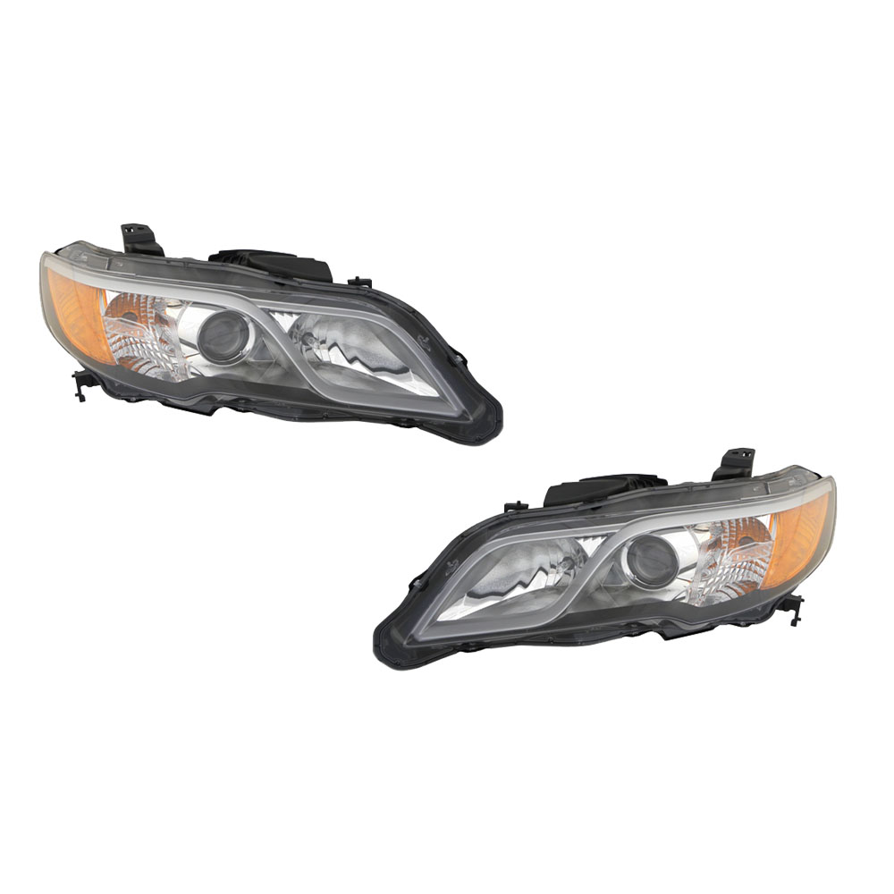 2013-2015 Acura RDX Driver & Passenger Side Headlights