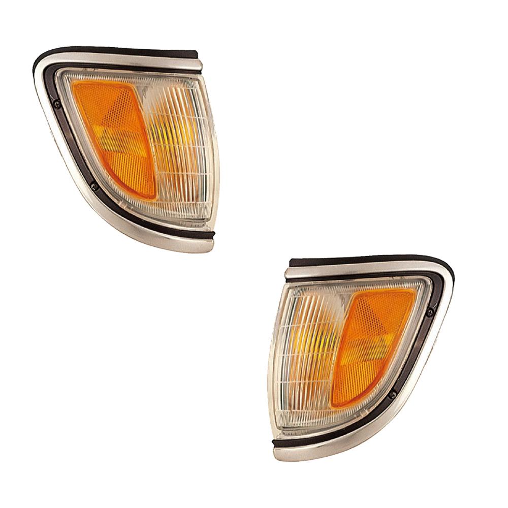 For 95-97 Tacoma 4WD Park Corner Light Turn Signal Marker Lamp Left /& Right PAIR