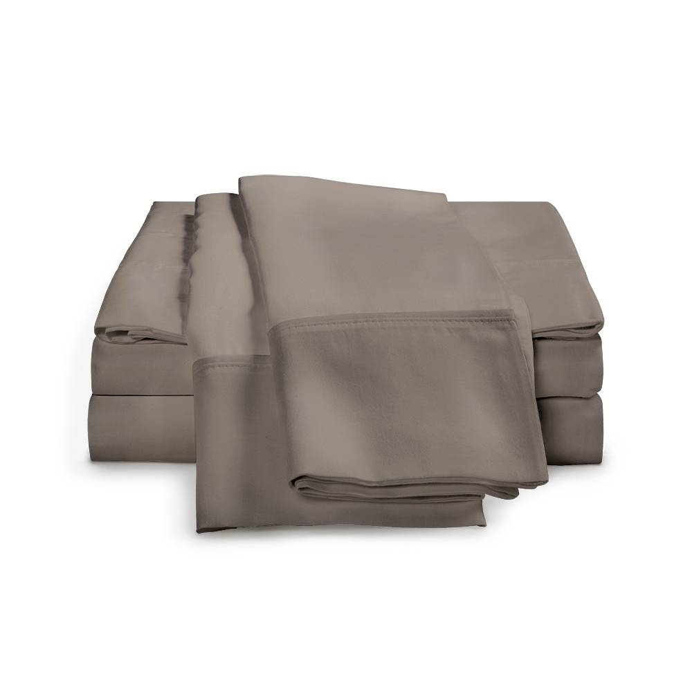 1500 Thread Count Egyptian Cotton Sheet Set Cal King Grey