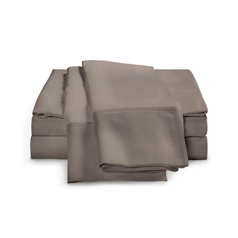 1500 Thread Count Egyptian Cotton Sheet Set Cal King Grey