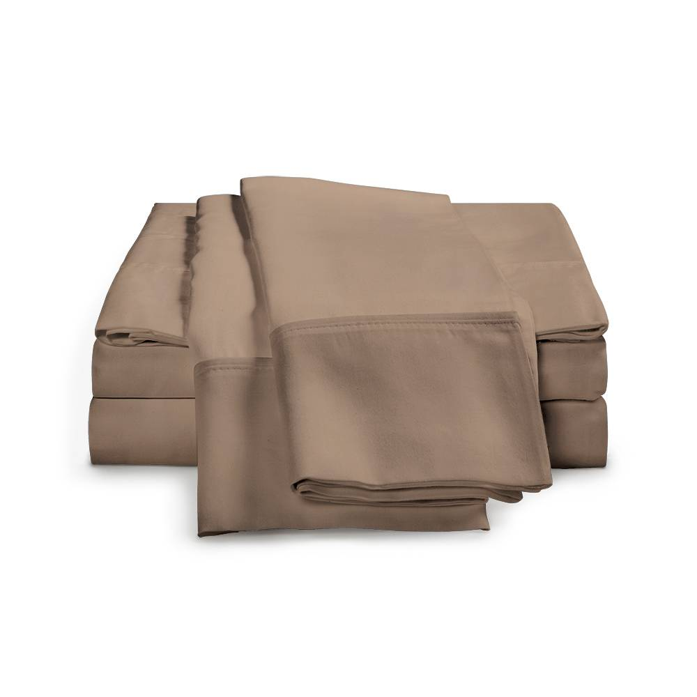 1500 Thread Count Egyptian Cotton Sheet Set Cal King Taupe