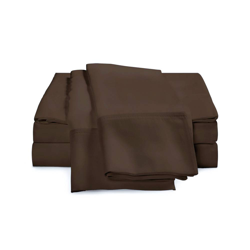 650 Thread Count Egyptian Cotton Sheets Cal King Chocolate