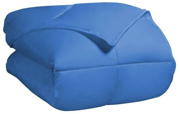 All Season Down Alternative Comforter King/Cal King Aster Blue