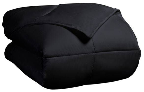 All Season Down Alternative Comforter King/Cal King Black