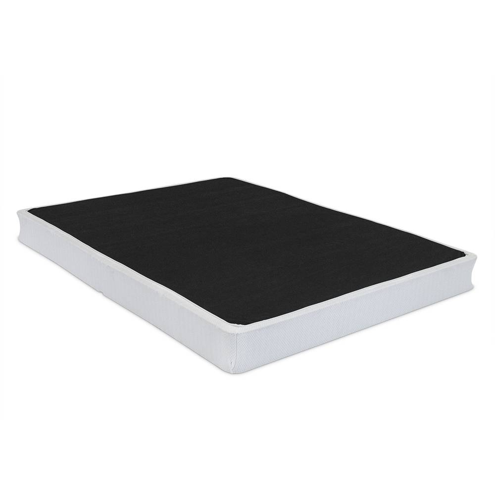 Simple Life Fully Assembled Mattress Box Foundation Cal King White
