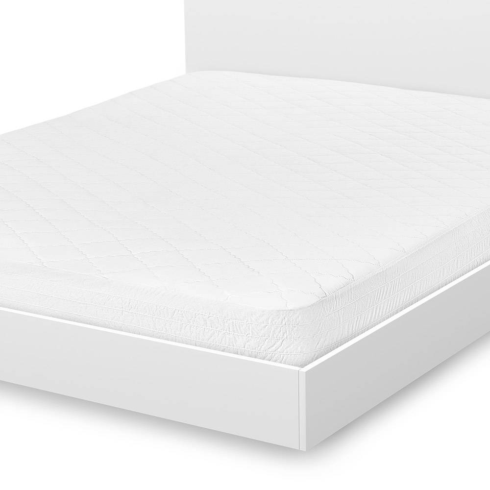 Cotton & Polyester Blend Mattress Pad by Simmons Beautyrest King White