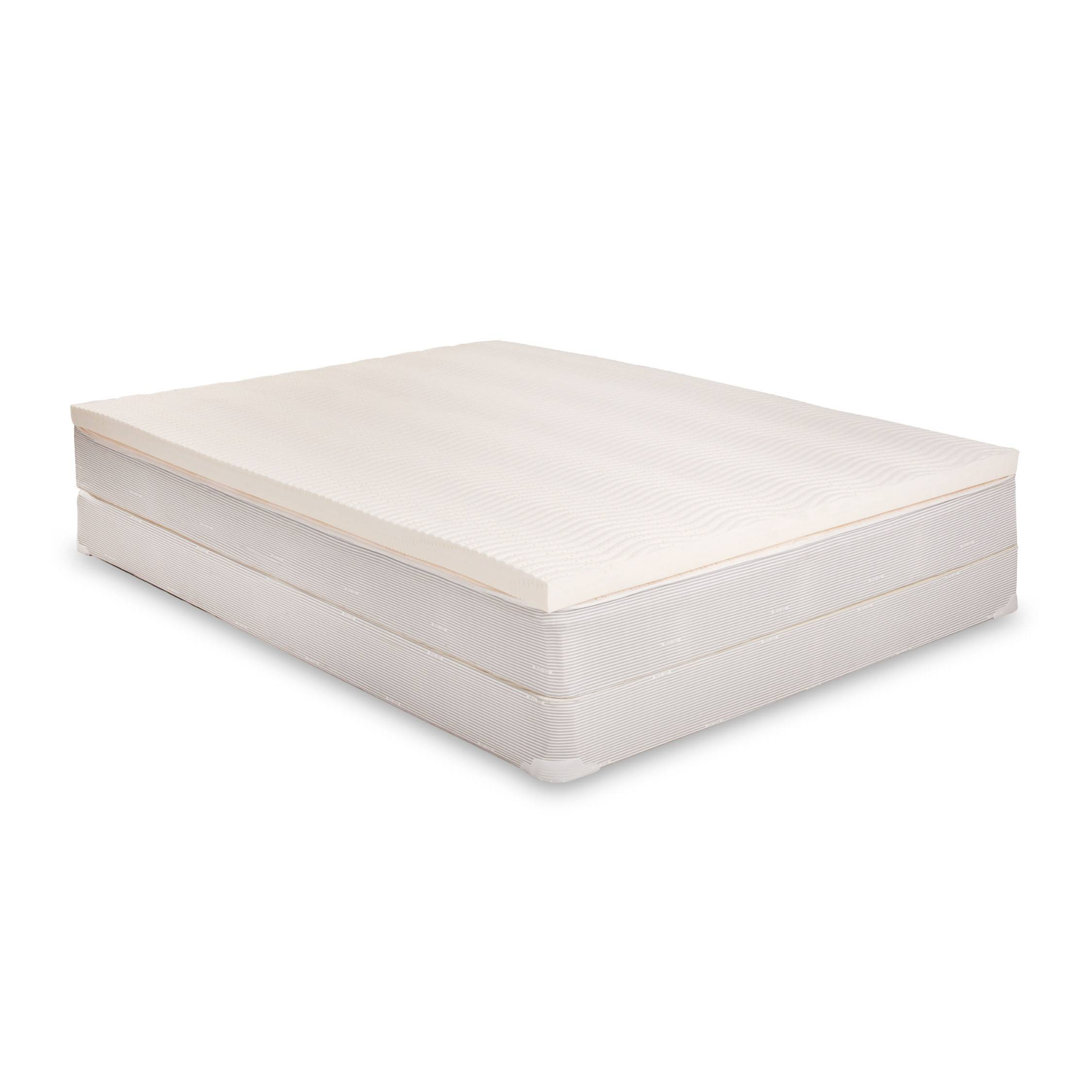 100% Latex Mattress Topper - Size Full XL - Made in the USA Full XL White